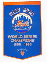 New York Mets Large Dynasty Wool Banner