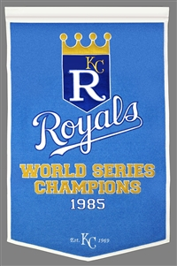 Kansas City Royals Large Dynasty Wool Banner