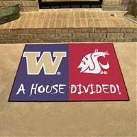 "Washington - Washington State House Divided Rug 34""x45"""