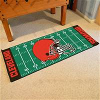 "Cleveland Browns Runner Mat 30""x72"""