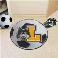 "Loyola University Chicago Soccer Ball Mat 27"" diameter"