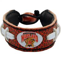 Maryland Terrapins Bracelet Classic Football Alternate