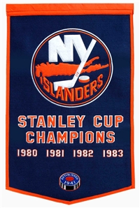 New York Islanders Large Dynasty Wool Banner