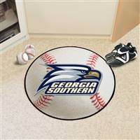 "Georgia Southern Eagles Baseball Rug 29"" Diameter"