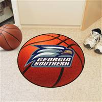"Georgia Southern Eagles Basketball Rug 29"" Diameter"