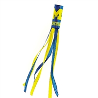 Michigan Wolverines Wind Sock