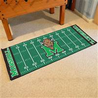 "Marshall Thundering Herd Football Field Runner Mat 30""x72"""