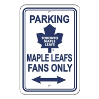 Toronto Maple Leafs Plastic Parking Sign