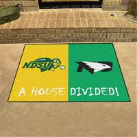 "House Divided - North Dakota State / North Dakota House Divided Mat 33.75""x42.5"""