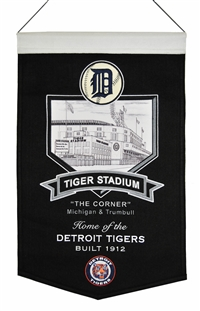 Tiger Stadium Wool Banner