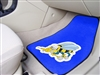 "U.S. Navy Seabees 2-piece Carpeted Car Mats 18""x27"""