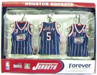 Houston Rockets Road Jersey Magnet Set