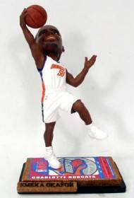 Charlotte Bobcats Emeka Okafor Ticket Base Forever Collectibles Bobblehead
