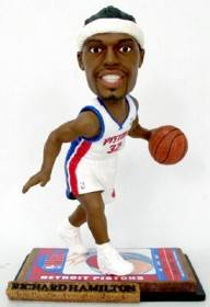 Detroit Pistons Richard Hamilton Ticket Base Forever Collectibles Bobblehead
