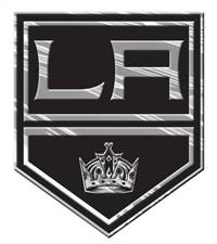 Los Angeles Kings Auto Emblem - Silver - Special Order