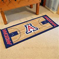 "University of Arizona NCAA Basketball Runner 30""x72"""