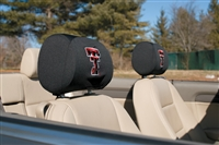 Texas Tech Red Raiders Car Headrest Covers (Set of 2)