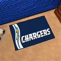 "San Diego Chargers Starter Rug 20""x30"", Uniform Inspired Design"