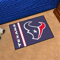 "Houston Texans Starter Rug 20""x30"", Uniform Inspired Design"