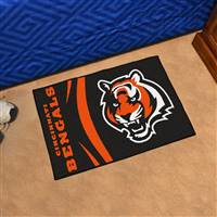 "Cincinnati Bengals Starter Rug 20""x30"", Uniform Inspired Design"