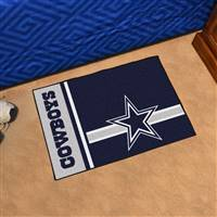 "Dallas Cowboys Starter Rug 20""x30"", Uniform Inspired Design"