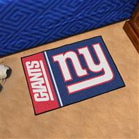 "New York Giants Starter Rug 20""x30"", Uniform Inspired Design"