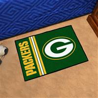 "Green Bay Packers Starter Rug 20""x30"", Uniform Inspired Design"