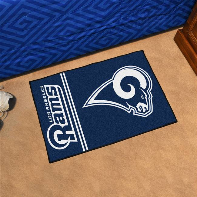 "St Louis Rams Starter Rug 20""x30"" Uniform Inspired Design"