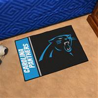 "Carolina Panthers Starter Rug 20""x30"", Uniform Inspired Design"