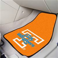 "Tennessee Lady Volunteers 2-piece Carpeted Car Mats 18""x27"""