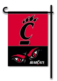 Cincinnati Bearcats 2-Sided Garden Flag Set