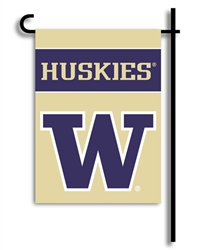 Washington Huskies 2-Sided Garden Flag Set
