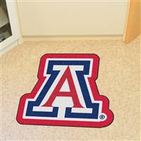 "University of Arizona Mascot Mat 32.7"" x 30"""