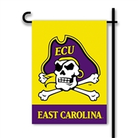 BSI Products East Carolina Pirates 2-Sided Garden Flag