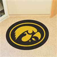 "University of Iowa Mascot Mat 39.5"" x 30"""