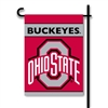 BSI Products Ohio State Buckeyes 2-Sided Garden Flag
