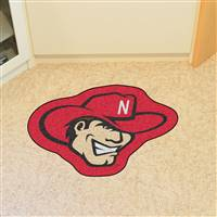 "University of Nebraska Mascot Mat 37"" x 30"""