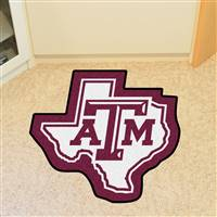 "Texas A&M University Mascot Mat 30.8"" x 30"""