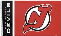 New Jersey Devils 3 Ft. X 5 Ft. Flag W/Grommetts