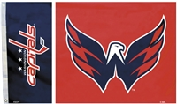 Washington Capitals 3 Ft. X 5 Ft. Flag W/Grommetts