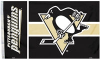Pittsburgh Penguins 3 Ft. X 5 Ft. Flag W/Grommetts