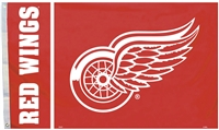 Detroit Red Wings 3 Ft. X 5 Ft. Flag W/Grommetts