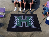 "Hawaii Warriors Tailgater Rug 60""x72"""