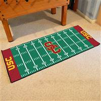 "University of Southern California Football Field Runner 30""x72"""