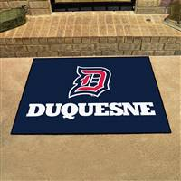 "Duquesne Dukes All-Star Rug 34""x45"""