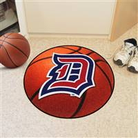 "Duquesne Dukes Basketball Rug 29"" diameter"