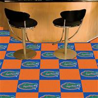 "Florida Gators Carpet Tiles 18""x18"" tiles, Covers 45 Sq. Ft."