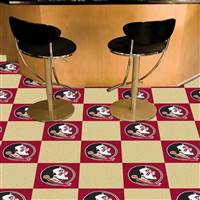 "Florida State Seminoles Carpet Tiles 18""x18"", Covers 45 Sq. Ft."