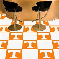 "Tennessee Volunteers Carpet Tiles 18""x18"" tiles, Covers 45 Sq. Ft."
