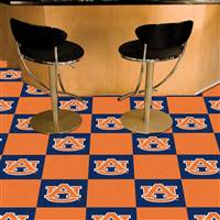 "Auburn Tigers Carpet Tiles 18""x18"" tiles, Covers 45 Sq. Ft."